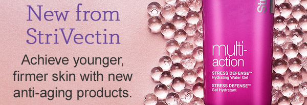 New products from StriVectin